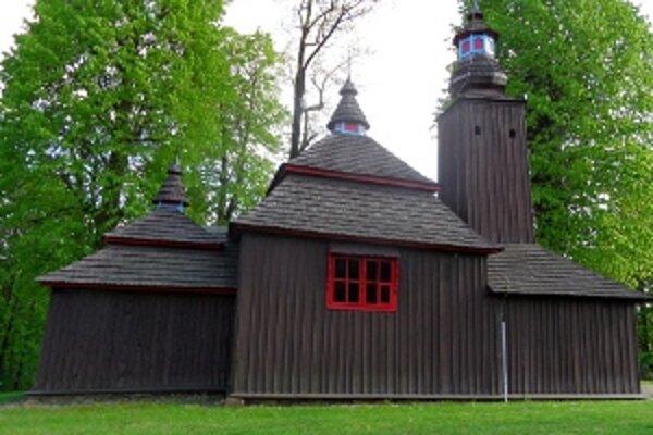 Názov pamiatky: Chrám svätého Bazila Veľkého <br/>Adresa pamiatky: Krajné Čierno, okr. Svidník