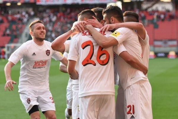 Spartak ukončil ligu víťazstvom.