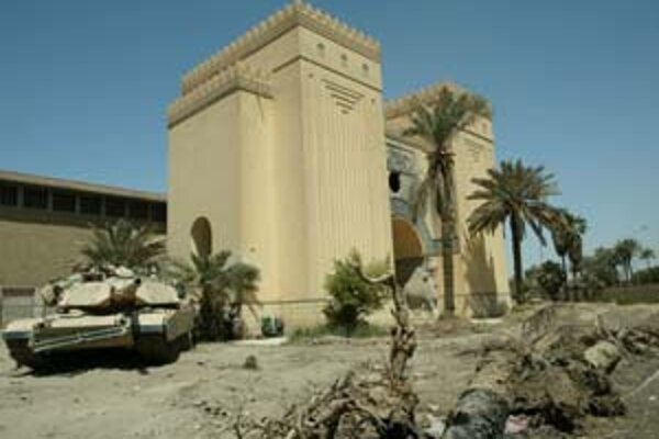 Národné múzeum v Bagdade ukrýva staroveké artefakty. Z bezpečnostných dôvodov je však zatvorené.