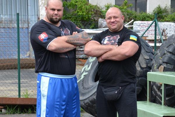 Milan Šuľan (vľavo) s Konstantinom Ilinom.