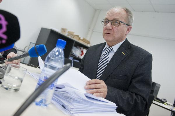 Predseda Rady pre vysielanie a retransmisiu Miloš Mistrík.