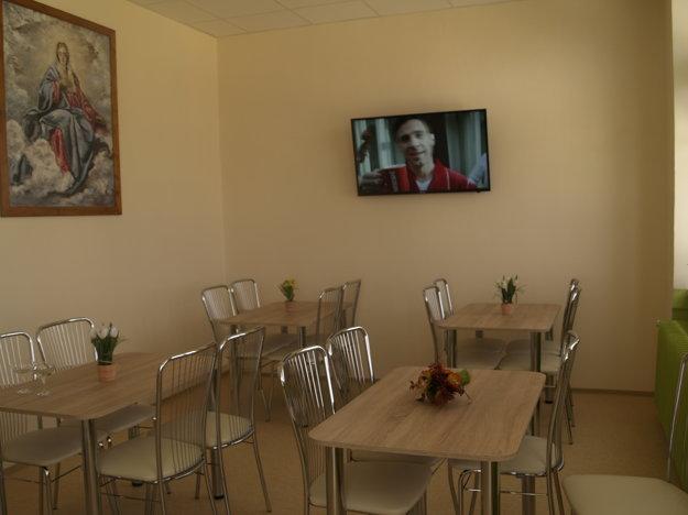 Príjemné prostredie novej jedálne
