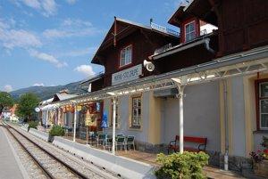 Stanica v Murau.