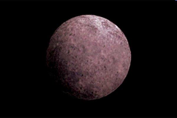 Umelecké zobrazenie trpasličej planéty 2007 OR10.