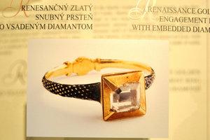 Vzácny snubný prsteň s takmer karátovým diamantom.