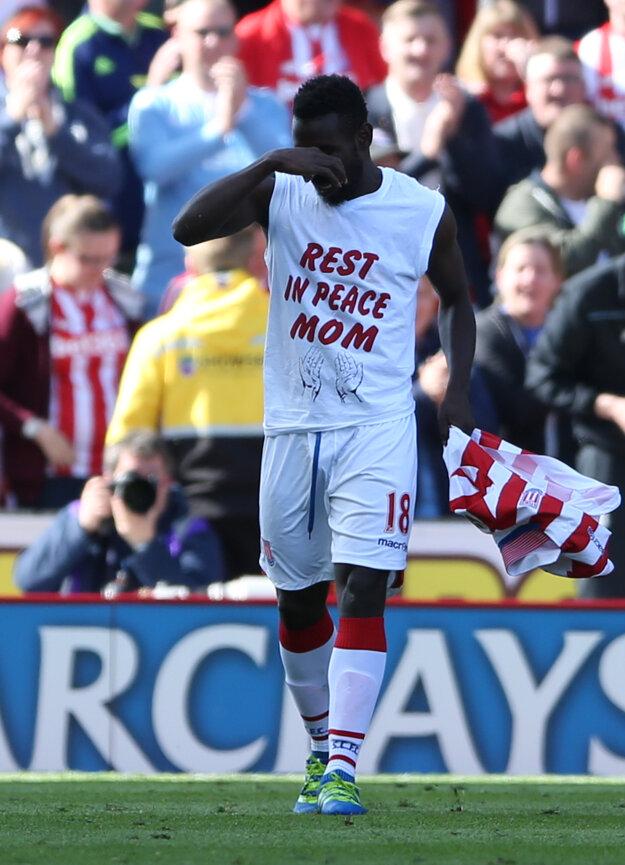 Mame Biram Diouf venoval svoj gól zosnulej matke.
