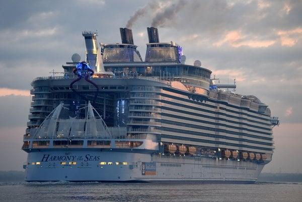 Na lodi je 2.747 kajút s rôznou úrovňou zariadenia.