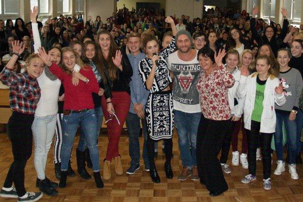 Na koncerte sa bavila celá škola.