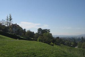 Švajčiarsko. Villa Diodati. Frankenstein.