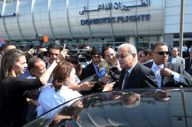 Egyptský premiér Šaríf Ismail.