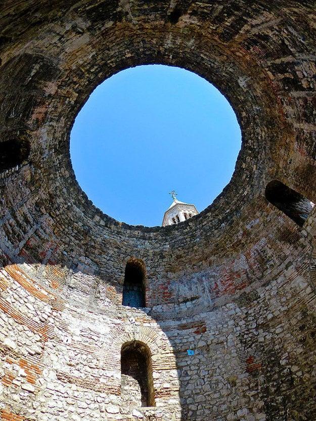Diokleciánov palác v Splite.