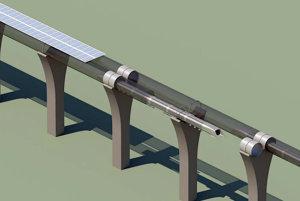 Hyperloop by mohol vyzerať aj takto.