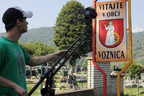 Jozef je tiež autorom krátkeho filmu o Voznici, ktorý obec premietala počas osláv výročia jej založenia.