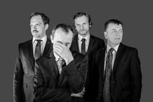 Ospalý pohyb vo vynovenej zostave tvoria Pavol Hubinák, Martin Burlas, Daniel Baláž aPeter Zagar.