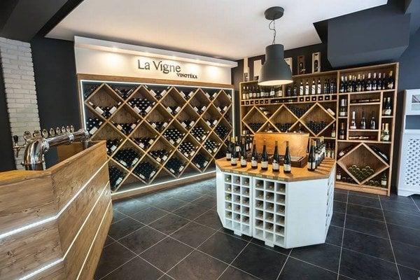 Štýlový interiér La Vigne.