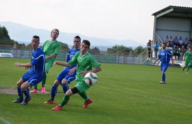 Derby sa hralo pod Vtáčnikom.