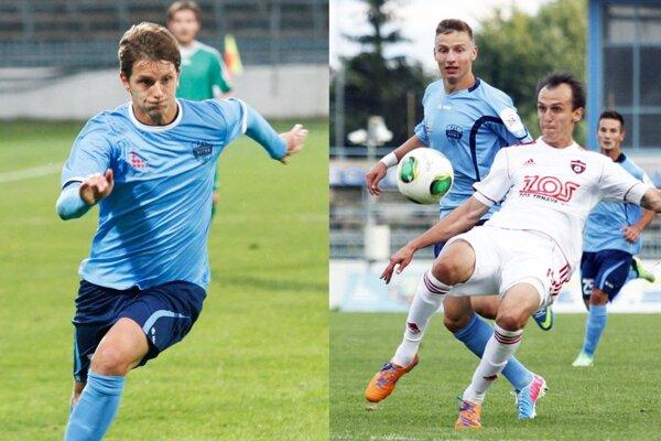 Matúš Paukner prestupuje z Békescsaby do Trnavy. Martin Tóth (vpravo v bielom) v Spartaku končí.