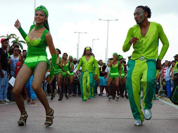 Tanec je prirodzenou súčasťou života Kolumbijčanov.