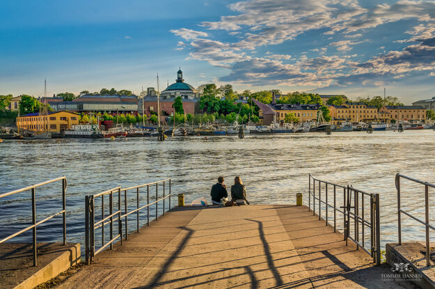 V júni svieti slnko vo Švédsku aj o polnoci.