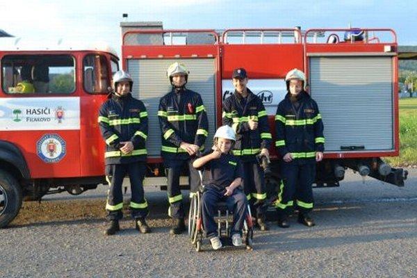 Tomáškovi sa vďaka hasičom splnil veľký sen.