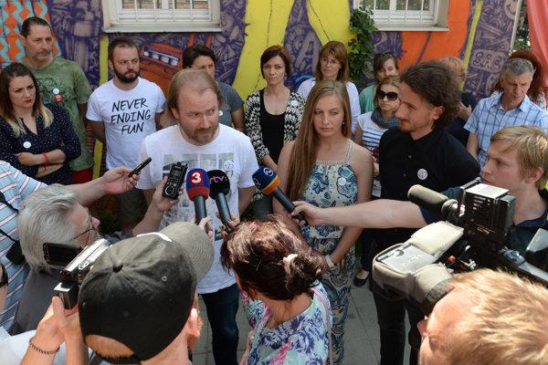 Brífing po stretnutí učiteľských iniciatív v Košiciach.