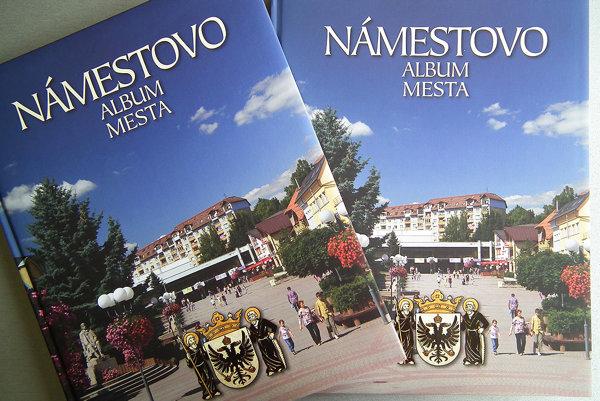 Obrazovo textová publikácia Námestovo - Album mesta.