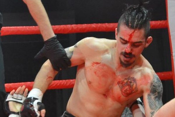 """Róbert """"Bony"""" Delič z Free Fight ClubU Detva."""