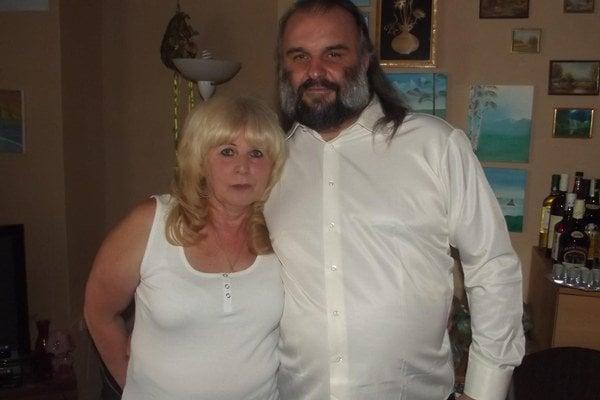 Jarmila s manželom Jaroslavom.