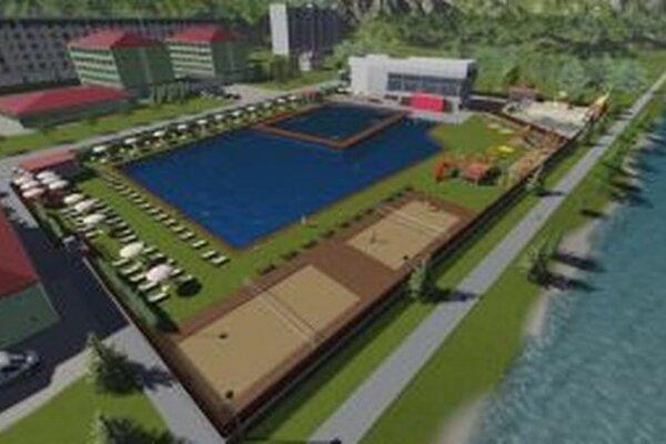 So zaujímavým návrhom prišla vlani spoločnosť z Kysuckého Nového Mesta.  Chce vybudovať biokúpalisko využívajúce technológiu samočistenia vody pomocou vodných rastlín.