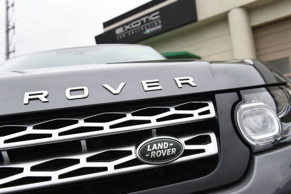 Britská automobilka Jaguar Land Rover.