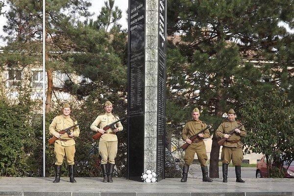 V Želiezovciach oslávili 70. výročie oslobodenia.