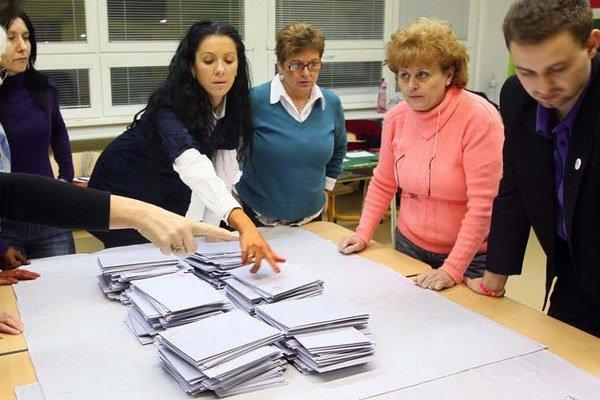 Počet potrebných podpisov voličov závisí od veľkosti obce.