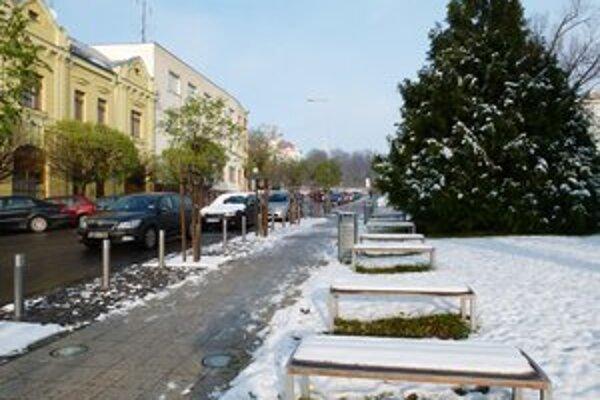Levická samospráva bude v novom roku šetriť na zimnej údržbe 18-tisíc eur.