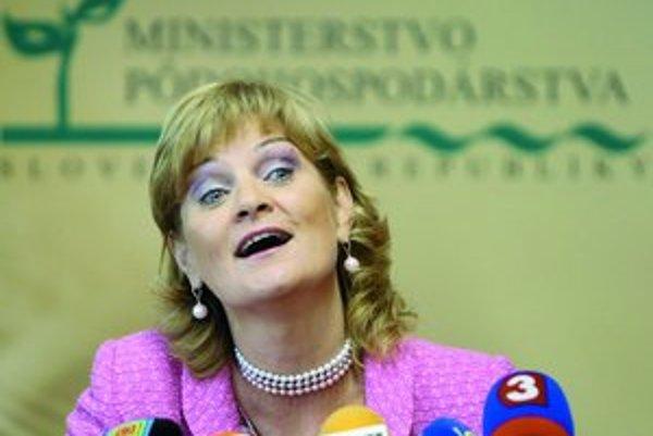 Zdenka Kramplová sa lúčila s ministerstvom pôdohospodárstva nerada, v práci chcela ešte pokračovať.