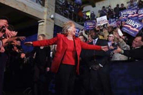 Hillary Clintonová vďačí svojim voličom za veľa. Ak by neporazila Baracka Obamu, ten by jej v kampani definitívne ušiel.