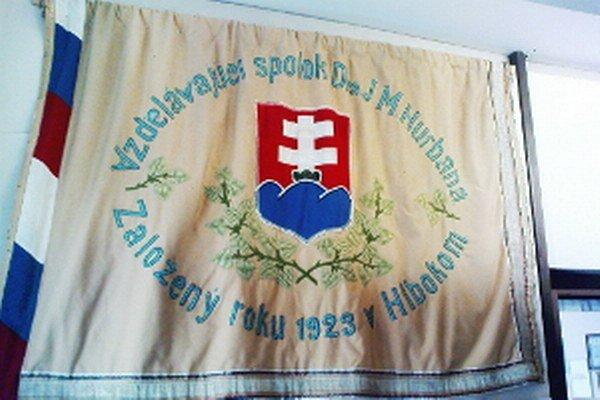 Z pôvodnej expozície - Pamätnej izby J. M. Hurbana v Hlbokom.