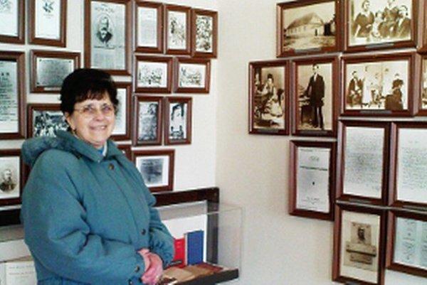 V pamätnej izbe J.M.Hurbana.