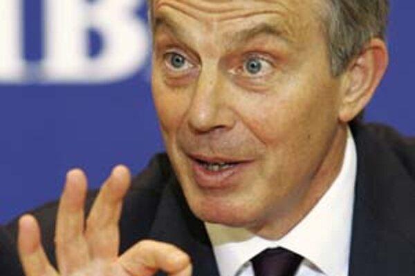 Tony Blair patrí aj medzi kandidátov na post prvého prezidenta EÚ.