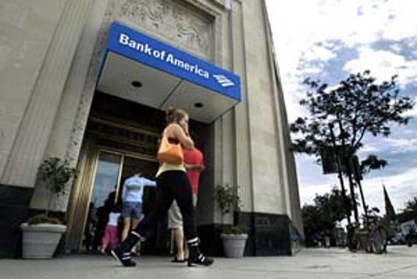 Druhá najväčšia americká banka Bank of Amerika kúpi najväčšieho poskytovateľa hypoték v krajine. Pomôže tak odvrátiť jeho kolaps.