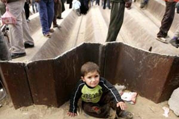 """Hranica medzi Gazou a Egyptom včera """"padla""""."""
