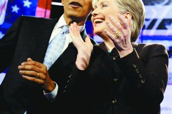 Počas debaty v hollywoodskom divadle panovala dobrá nálada. Obama a Clintonová na seba tentoraz neútočili.