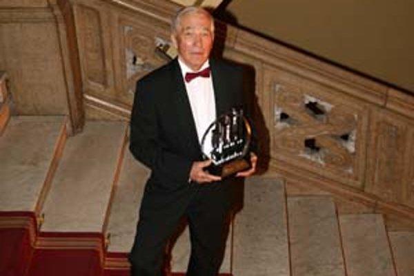 Víťaz tohtoročného podnikateľa roka – Miroslav Trnovský začal podnikať až po päťdesiatke.