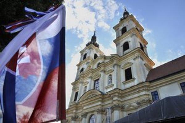 Bazilika v Šaštíne-Strážach sa stane pútnickým miestom zaľúbených párov už šiestykrát.