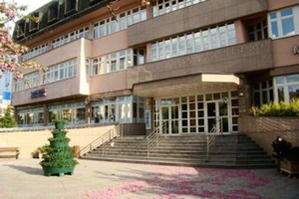 Mestský úrad v Senici.