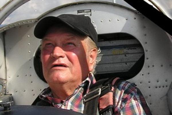 Pilot Vladimír Stehlík.