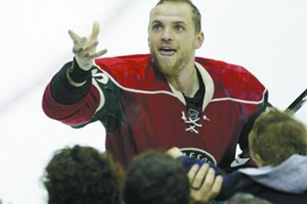 Marián Gáborík je jediný zo Slovákov v NHL , ktorý má priemer viac než bod na zápas.