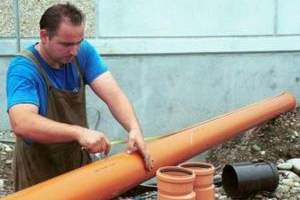 Výstavba kanalizácie v Moravskom Svätom Jáne a v Sekuliach bude financovaná z eurofondov.