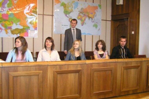Študenti na návšteve v Národnej rade SR