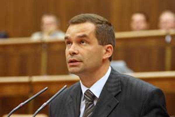 Minister obrany František Kašický