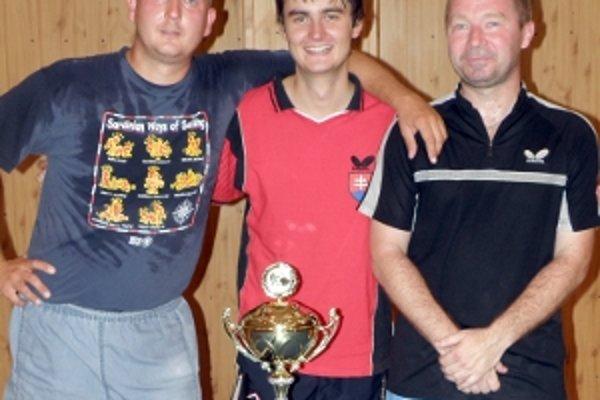 Marek, Palček a Smrž vyhrali pohár predsedu TTSK. S Budapešťou ani jeden nehral.